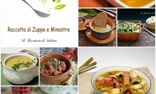 Raccolta di zuppe e minestre