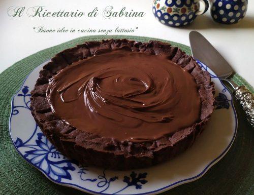 Crostata al cioccolato senza glutine